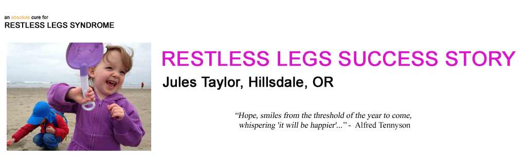 header for jules-taylor-an-infant-born-with-restless-legs-syndrome