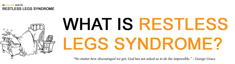 picture of what is Restless Legs Syndrome